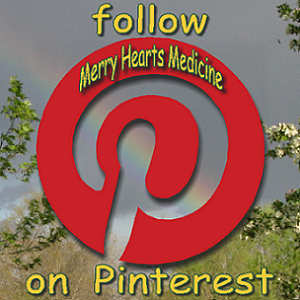 follow Merry Hearts Medicine on Pinterest logo